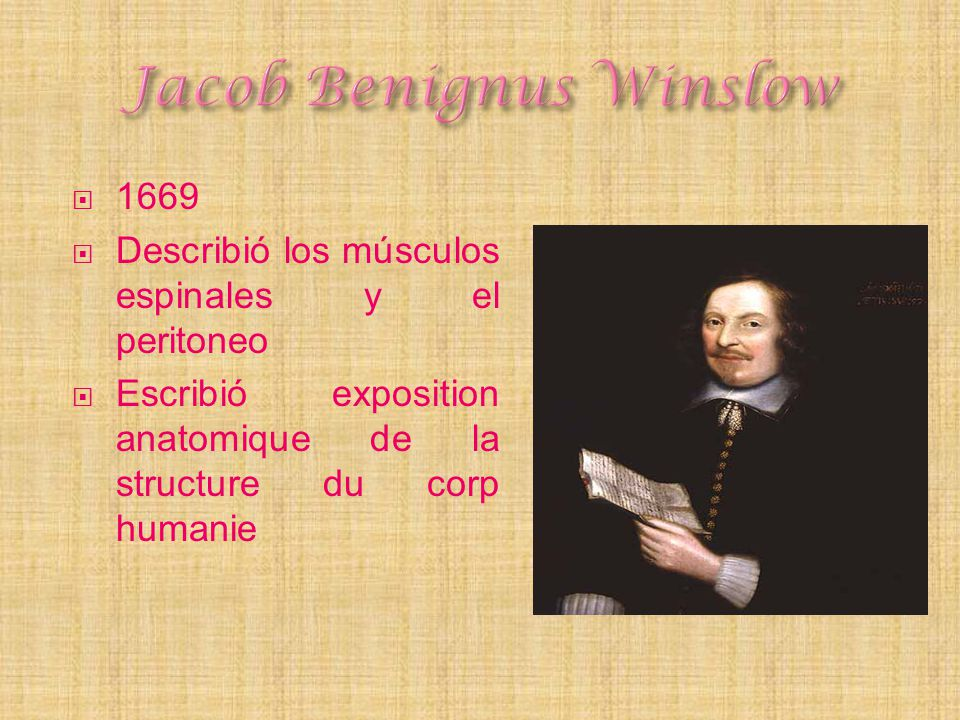 Jacob Benignus Winslow