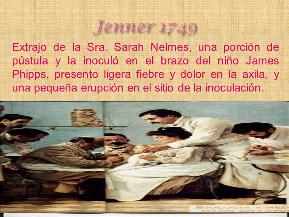 Jenner 1749 Siglo de las Vacunas