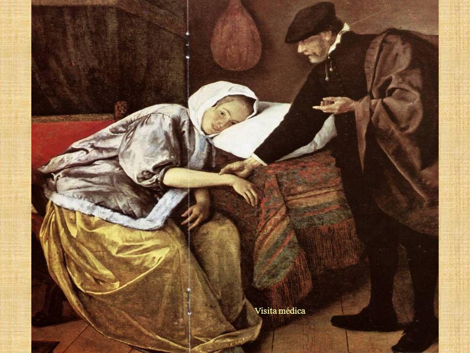 Visita médica La enferma –Jean Steen.