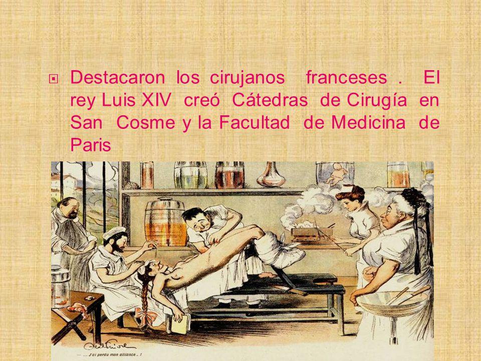 Destacaron los cirujanos franceses