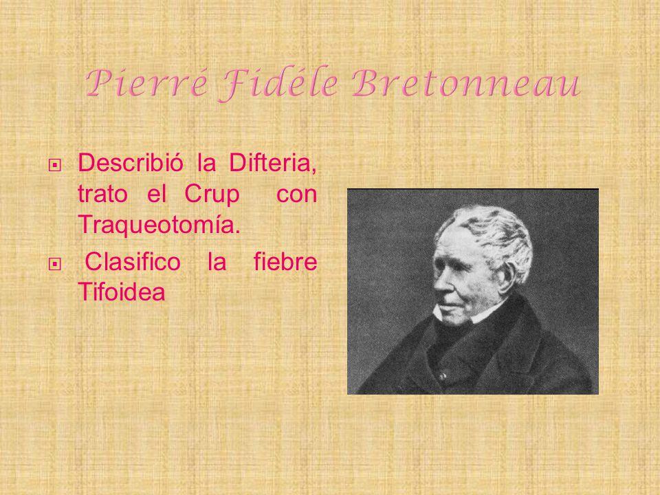 Pierré Fidéle Bretonneau