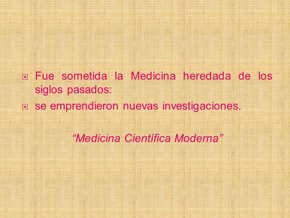 Medicina Científica Moderna