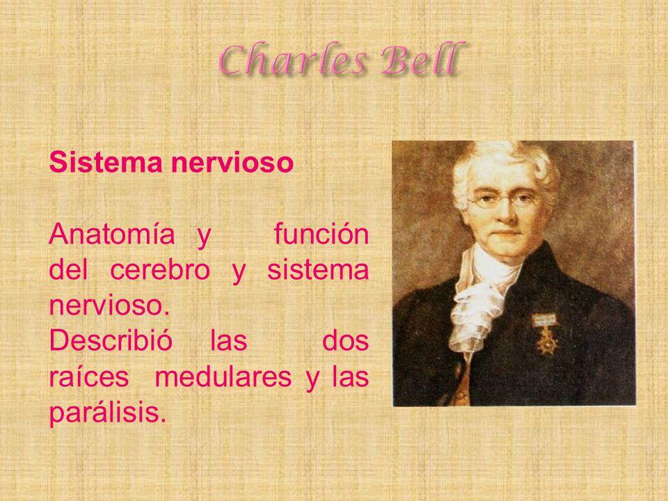 Charles Bell Sistema nervioso