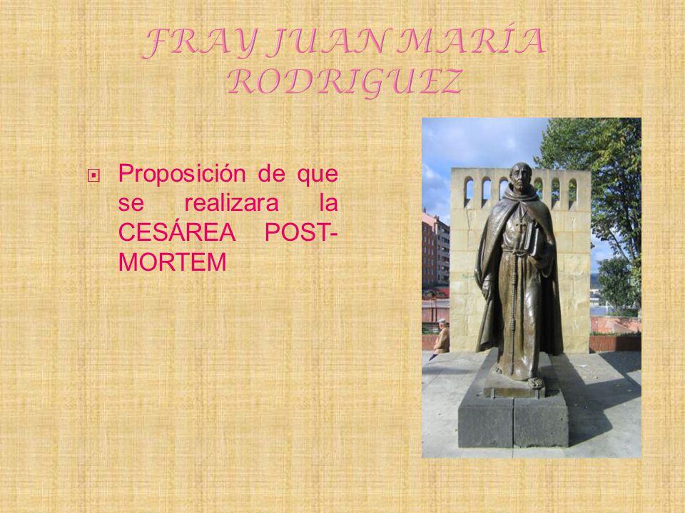FRAY JUAN MARÍA RODRIGUEZ
