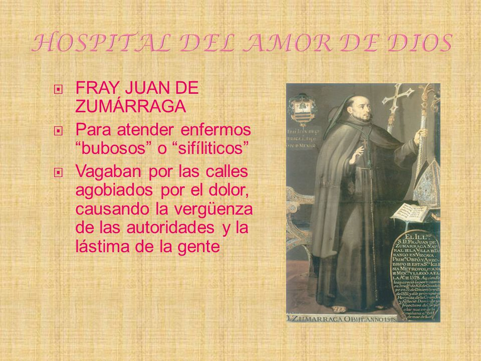 HOSPITAL DEL AMOR DE DIOS