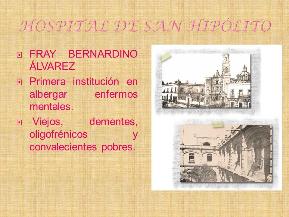 HOSPITAL DE SAN HIPÓLITO