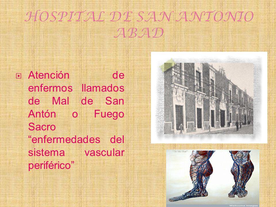 HOSPITAL DE SAN ANTONIO ABAD