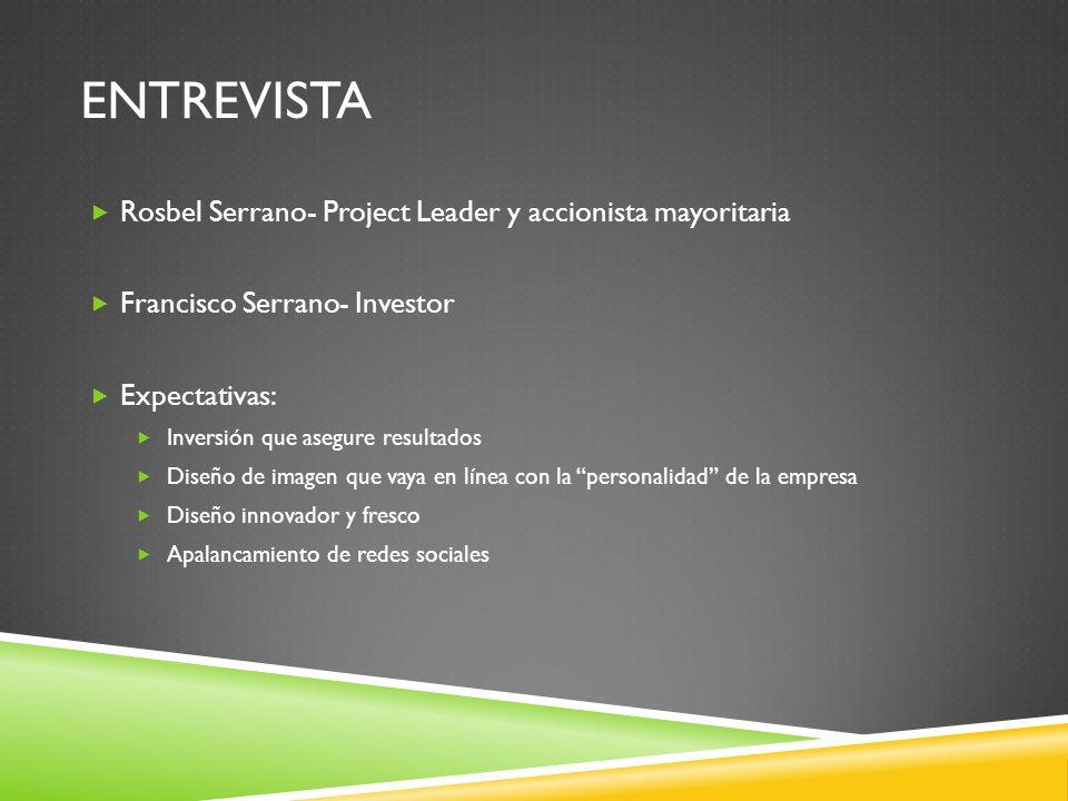 Entrevista Rosbel Serrano- Project Leader y accionista mayoritaria
