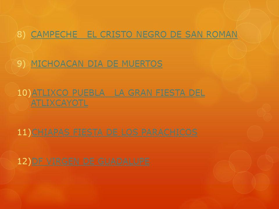 CAMPECHE EL CRISTO NEGRO DE SAN ROMAN