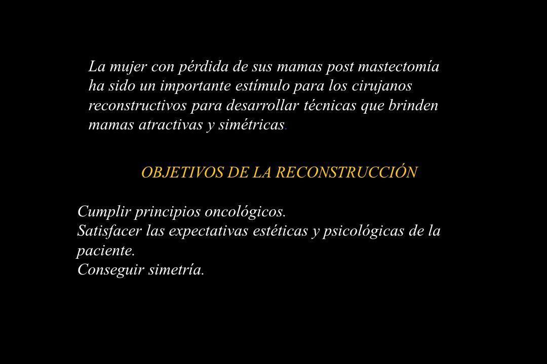 OBJETIVOS DE LA RECONSTRUCCIÓN