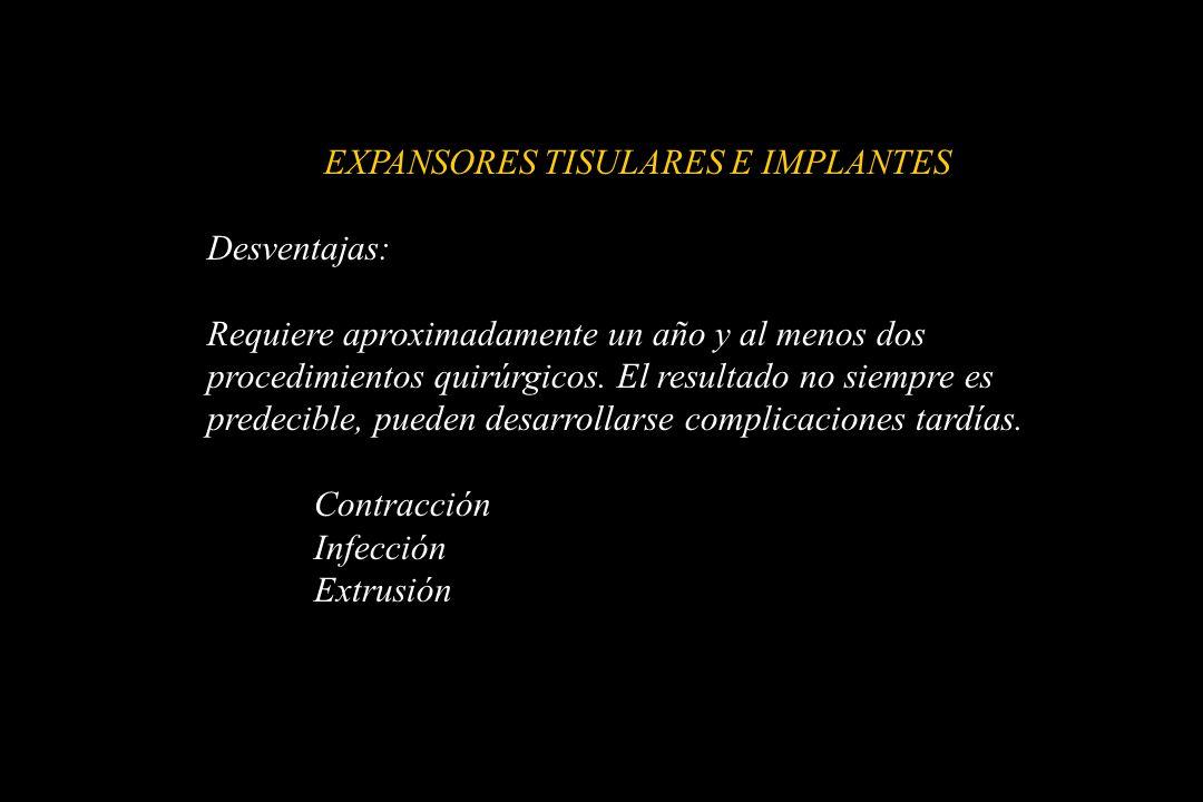 EXPANSORES TISULARES E IMPLANTES