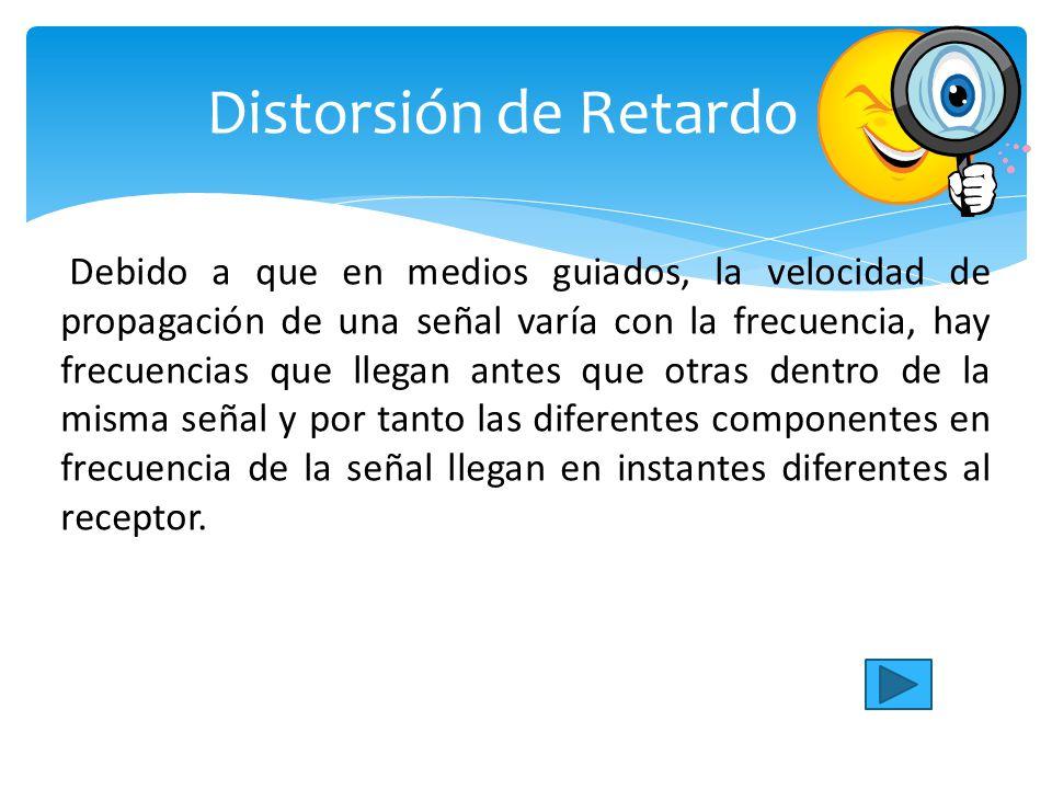 Distorsión de Retardo
