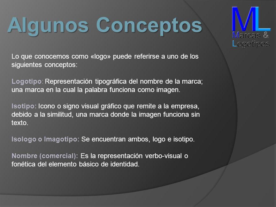 Algunos Conceptos Lo que conocemos como «logo» puede referirse a uno de los siguientes conceptos: