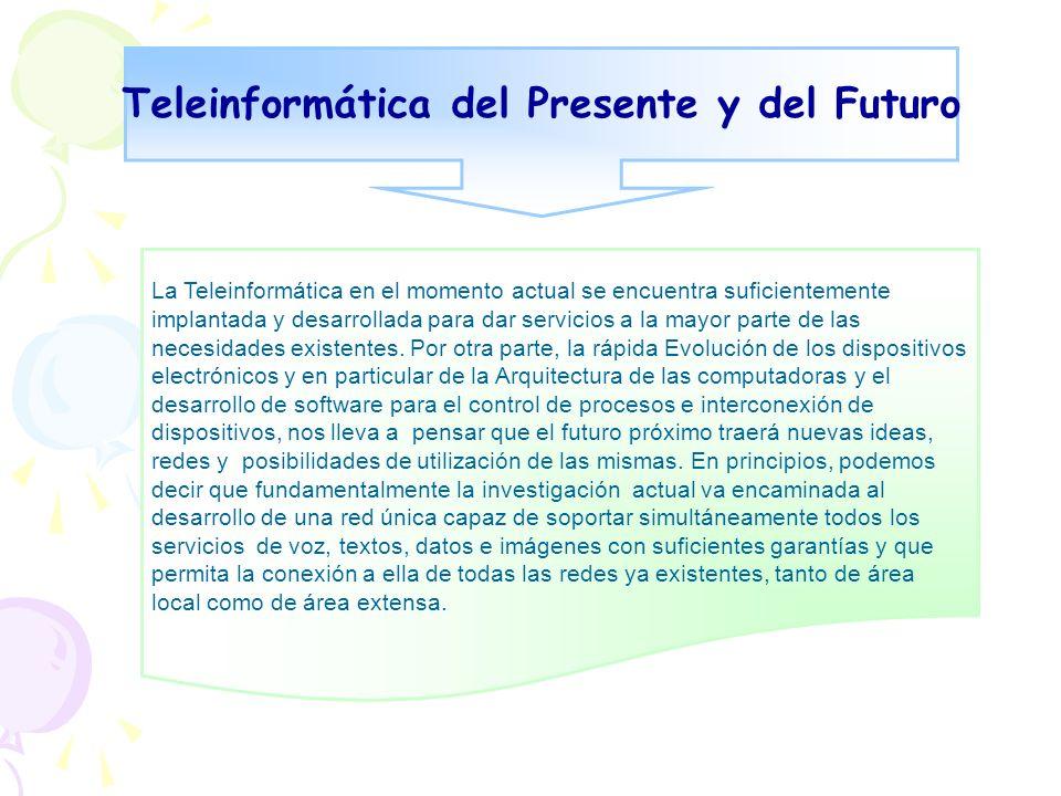 Teleinformática del Presente y del Futuro