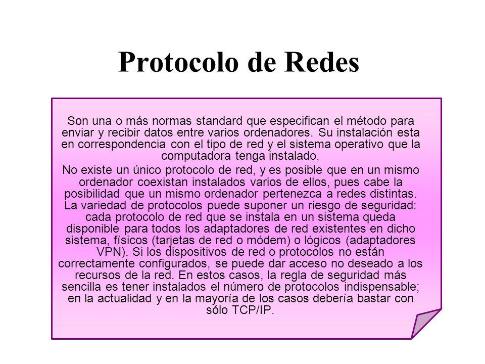 Protocolo de Redes