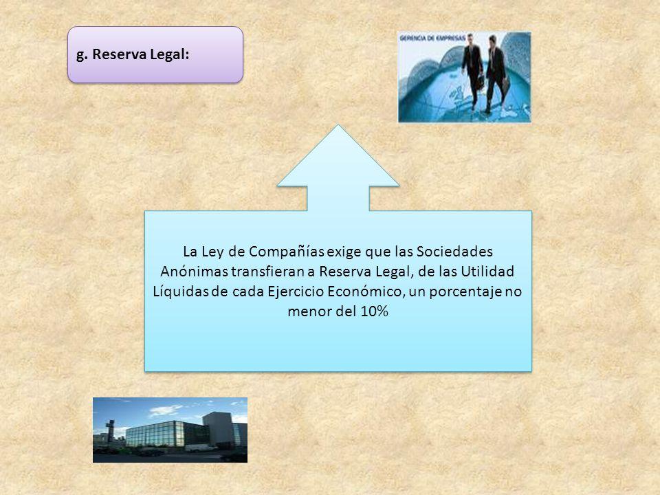 g. Reserva Legal: