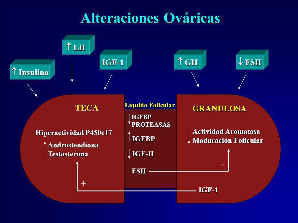 Alteraciones Ováricas