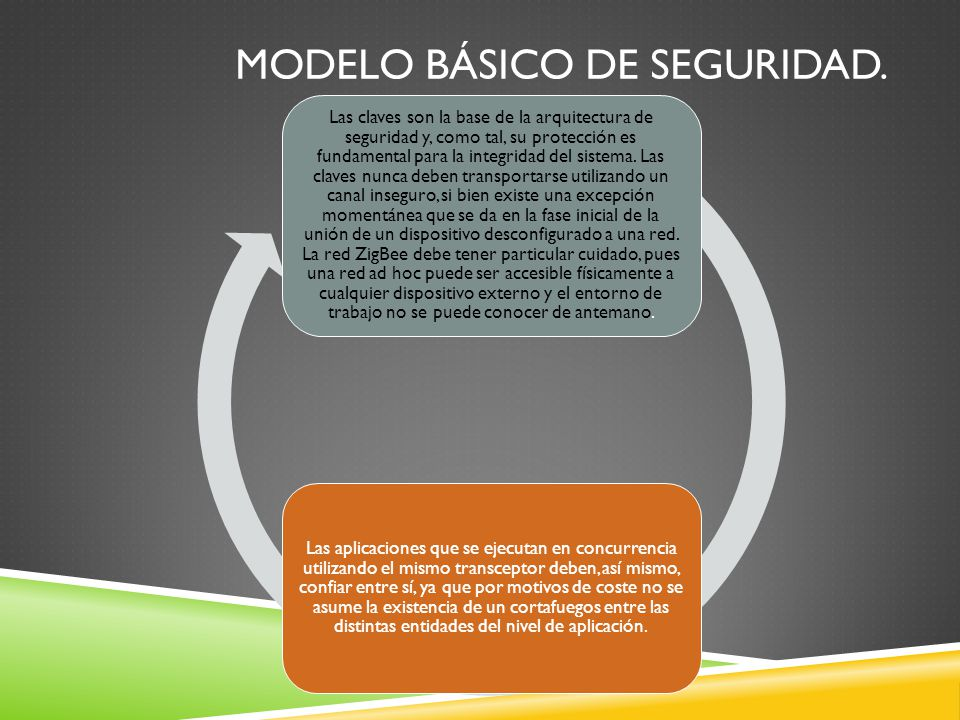 Modelo básico de seguridad.