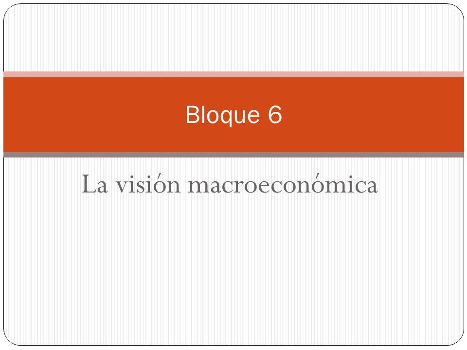 La visión macroeconómica