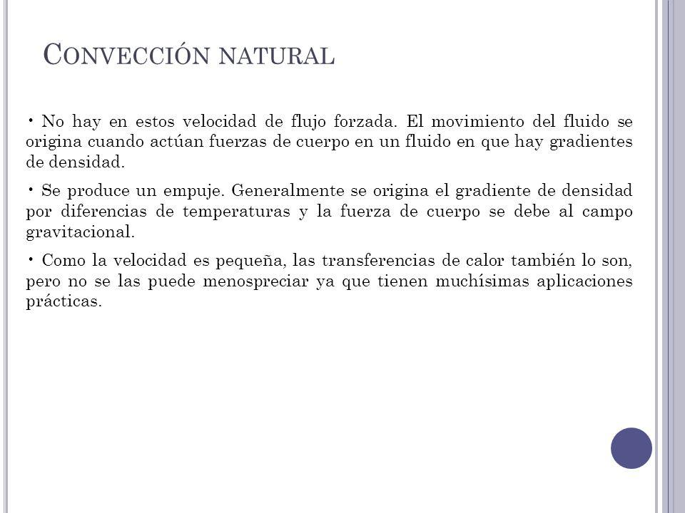 Convección natural