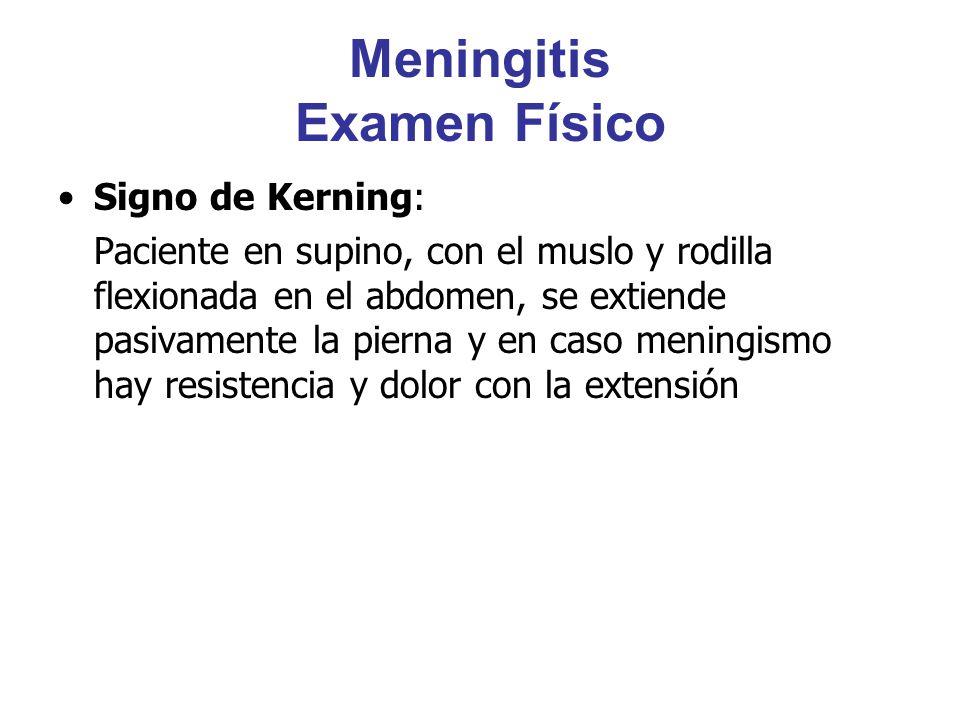 Meningitis Examen Físico