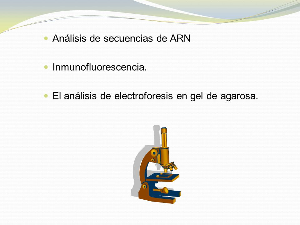 Análisis de secuencias de ARN