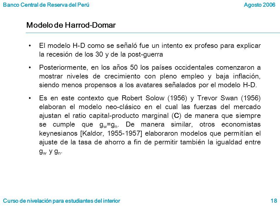 Modelo de Harrod-Domar