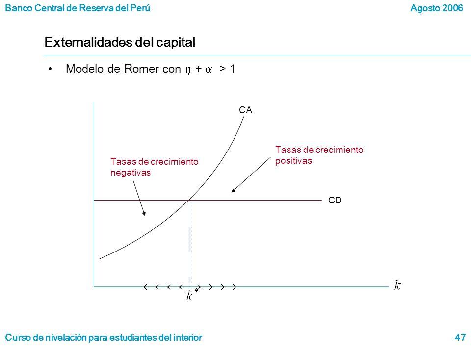 Externalidades del capital