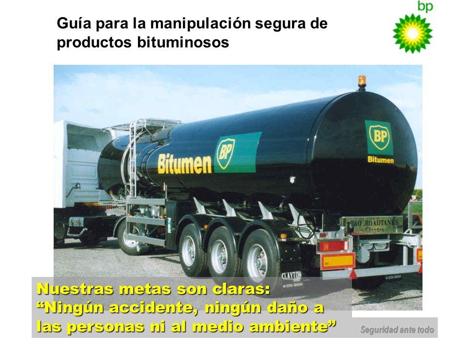 Guía para la manipulación segura de productos bituminosos