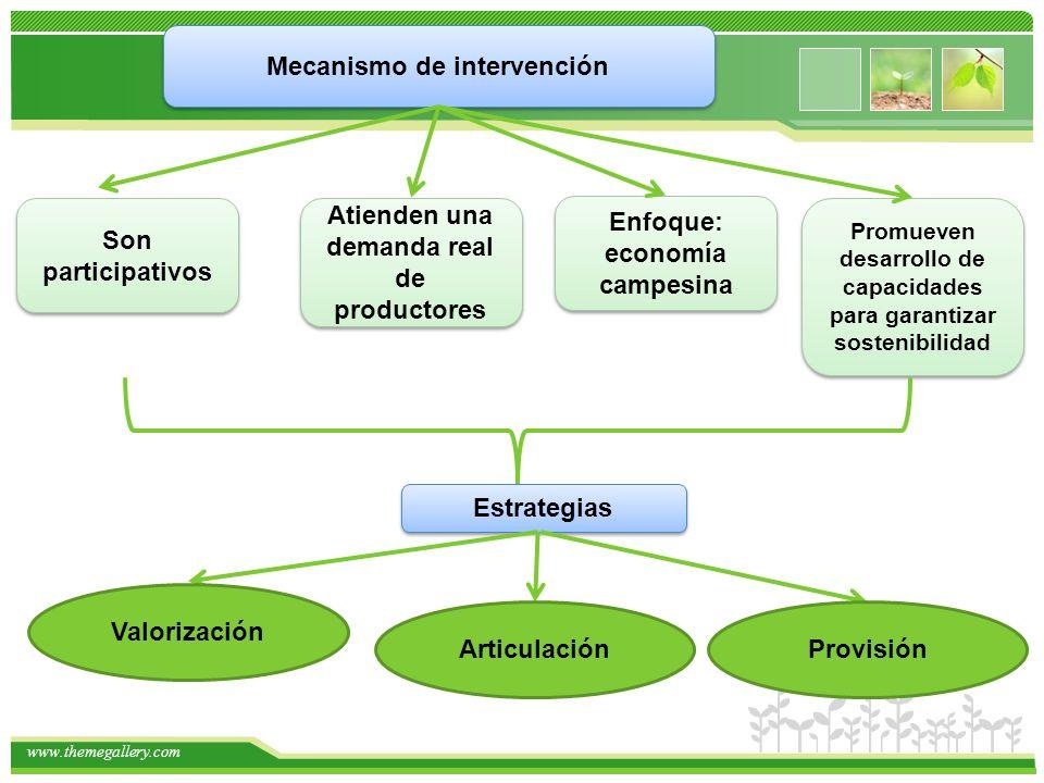 Mecanismo de intervención