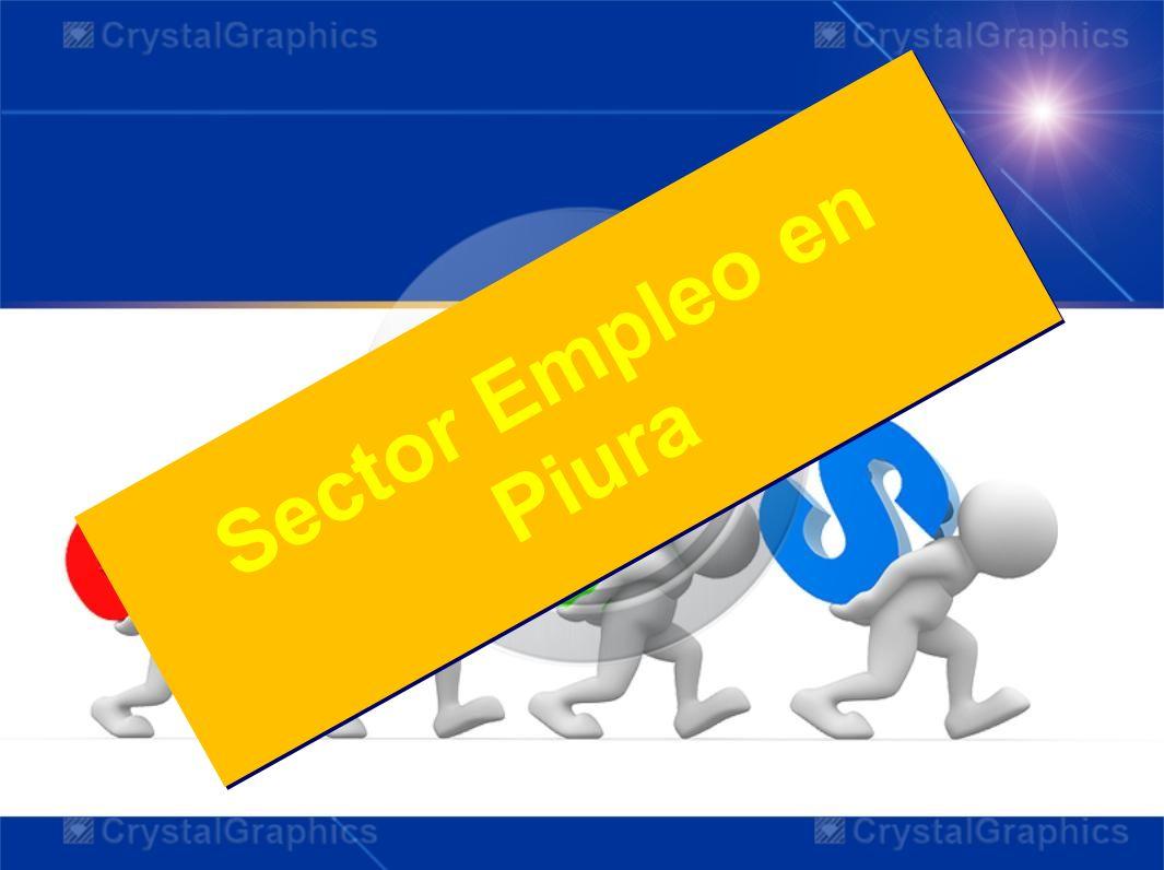 Sector Empleo en Piura