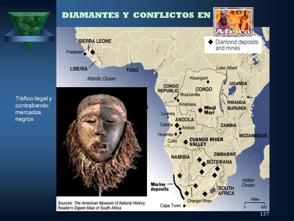 DIAMANTES Y CONFLICTOS EN ÁFRICA