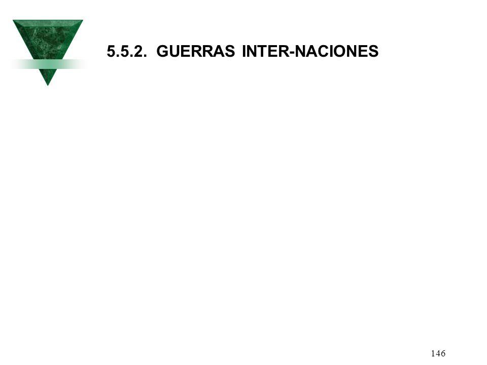 5.5.2. GUERRAS INTER-NACIONES