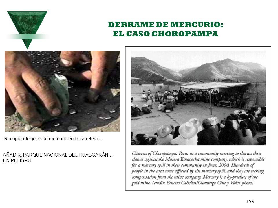 DERRAME DE MERCURIO: EL CASO CHOROPAMPA