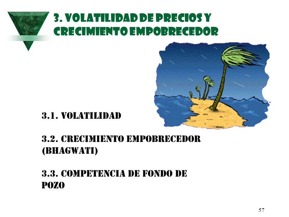 3. VOLATILIDAD DE PRECIOS Y CRECIMIENTO EMPOBRECEDOR