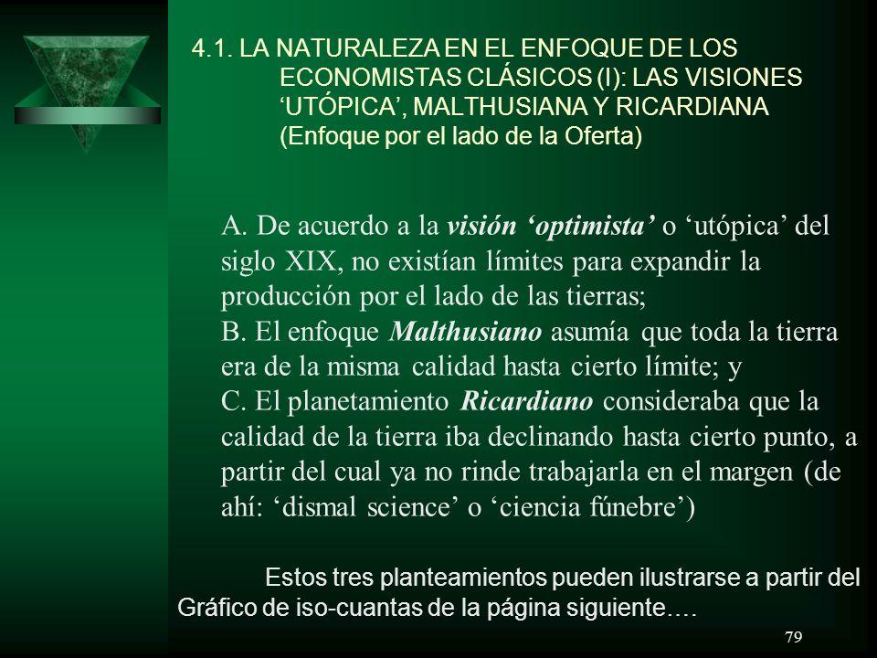 4. 1. LA NATURALEZA EN EL ENFOQUE DE LOS