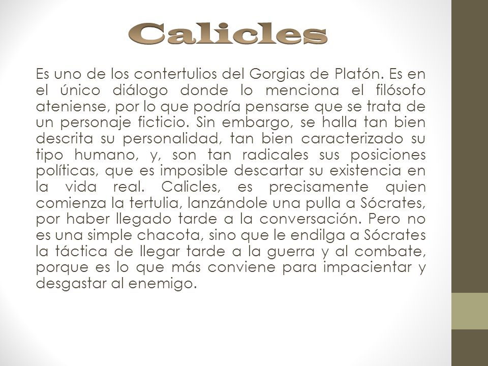 Calicles