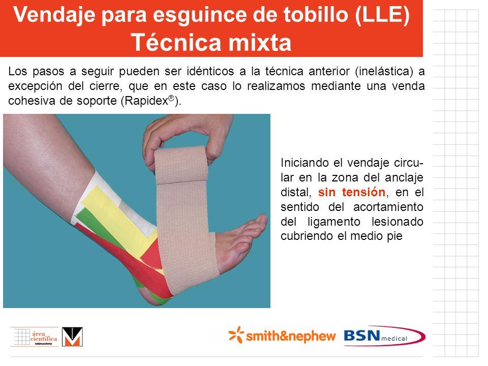 Vendaje para esguince de tobillo (LLE)