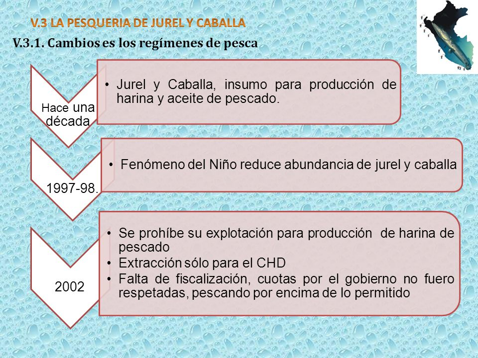 V.3 LA PESQUERIA DE JUREL Y CABALLA
