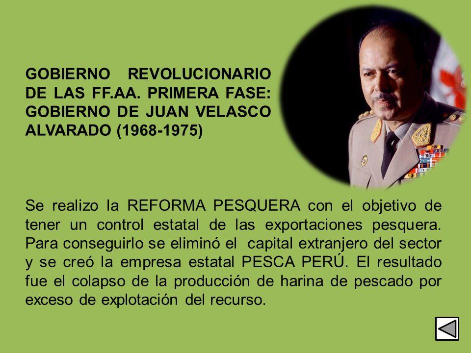 GOBIERNO REVOLUCIONARIO DE LAS FF. AA