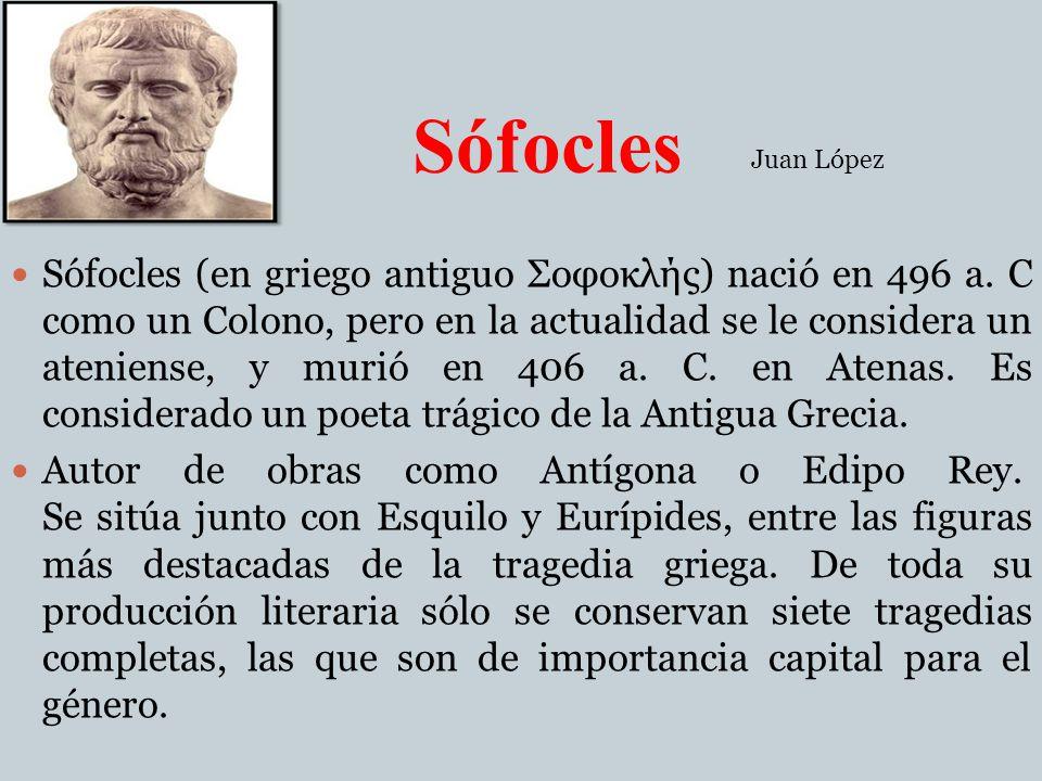 Sófocles Juan López.