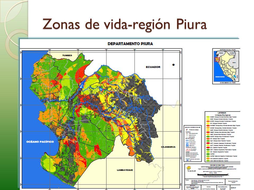 Zonas de vida-región Piura