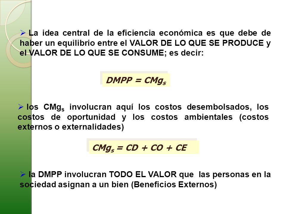 DMPP = CMgs CMgs = CD + CO + CE
