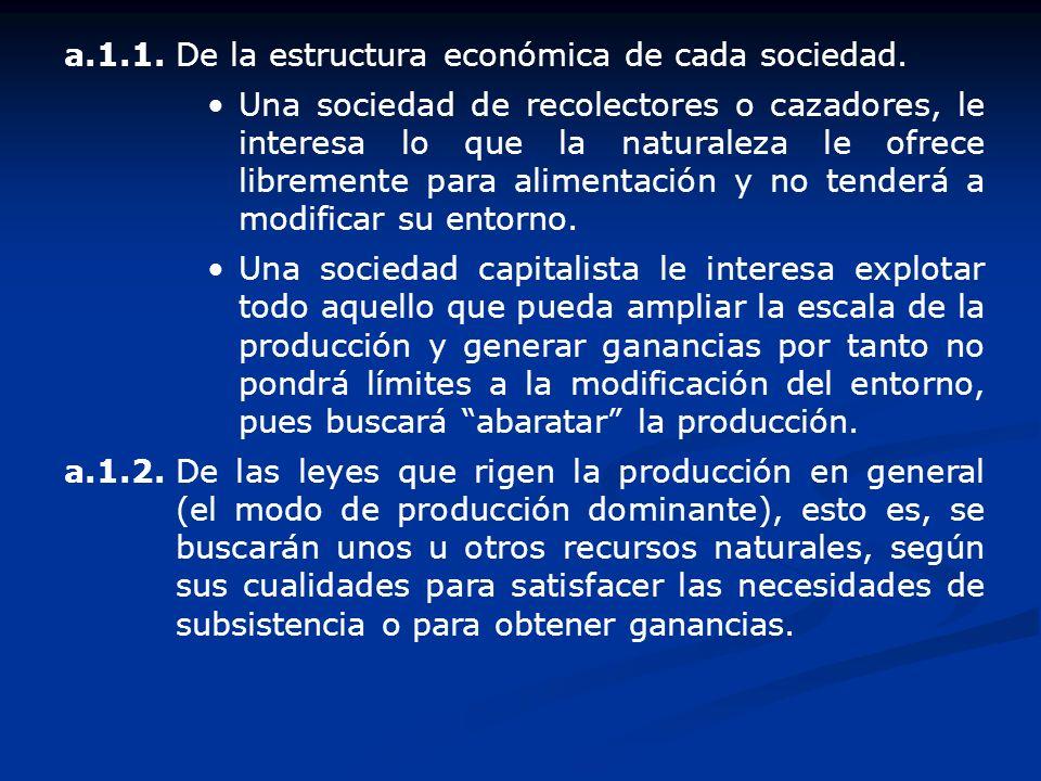 a.1.1. De la estructura económica de cada sociedad.