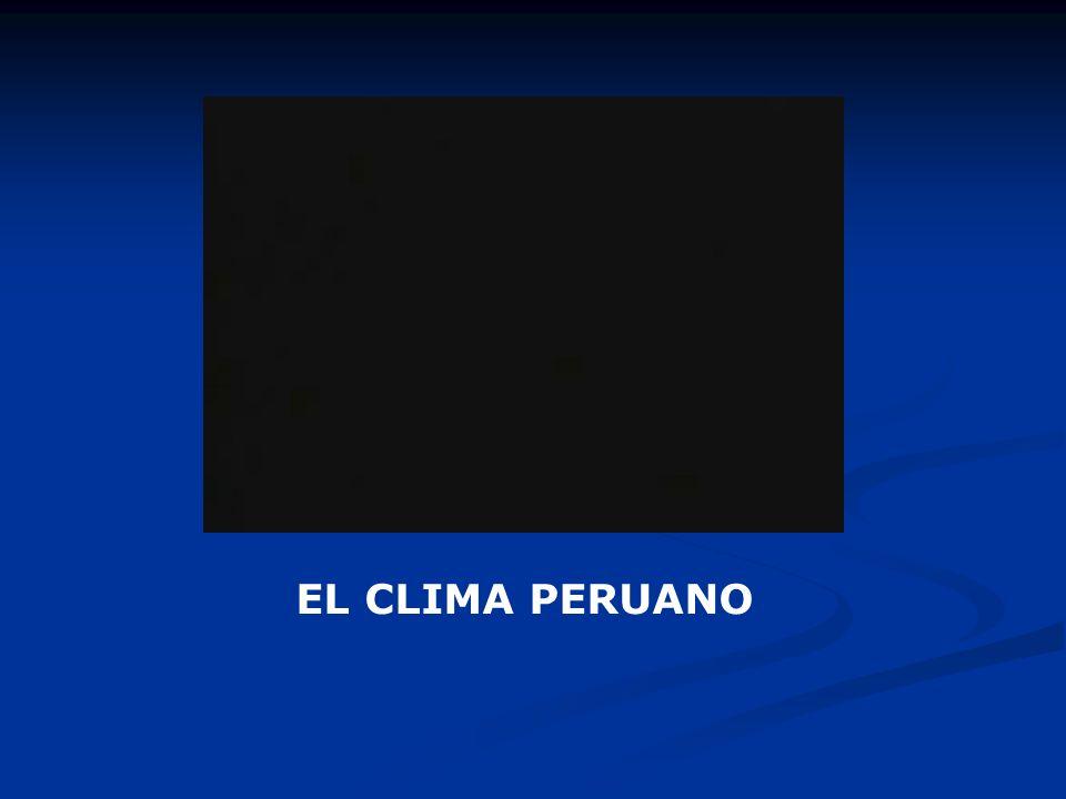 EL CLIMA PERUANO