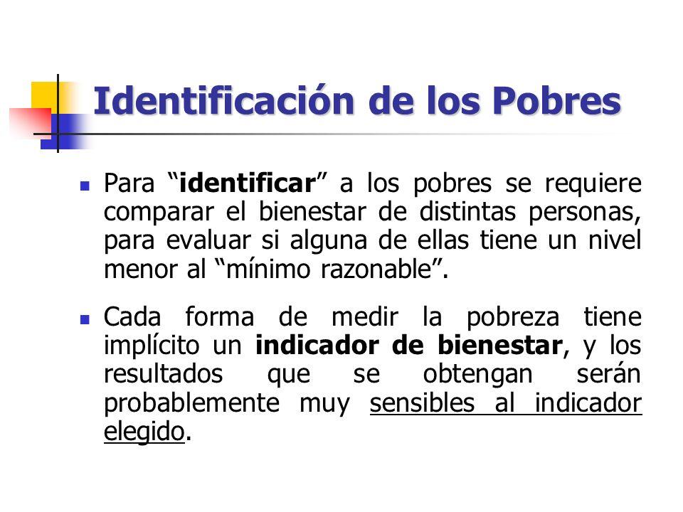 Identificación de los Pobres
