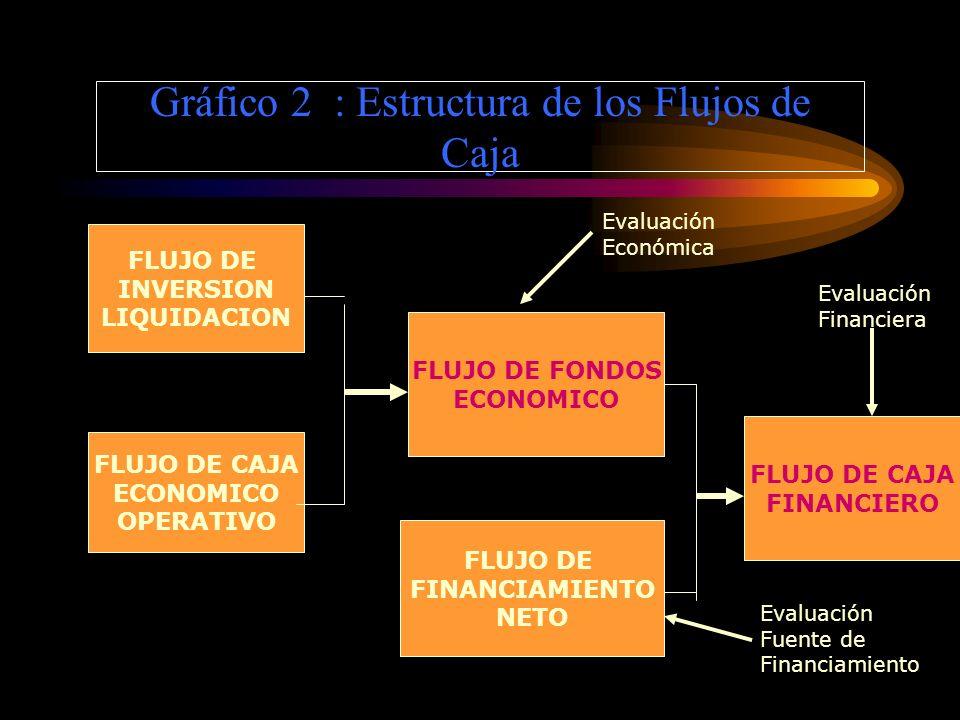 Gráfico 2 : Estructura de los Flujos de Caja