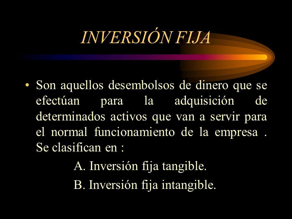 INVERSIÓN FIJA