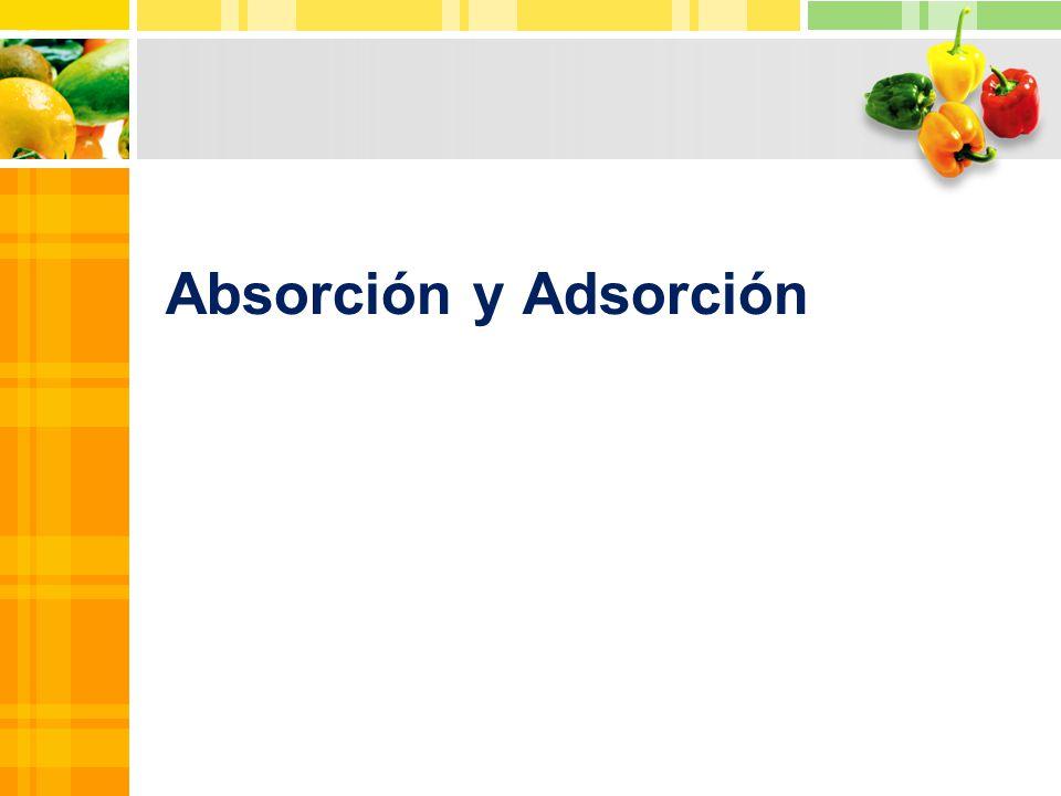 Absorción y Adsorción