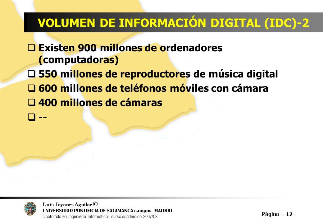 VOLUMEN DE INFORMACIÓN DIGITAL (IDC)-2